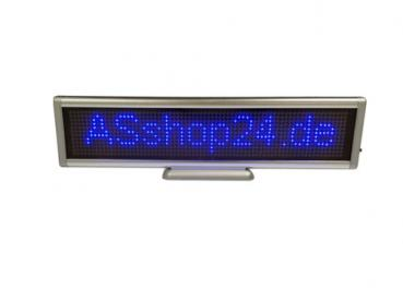 LED Display (Desktop) - LED Laufschrift - blau