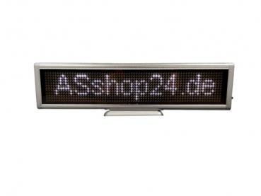 LED Display (Desktop) - LED Laufschrift - weiß